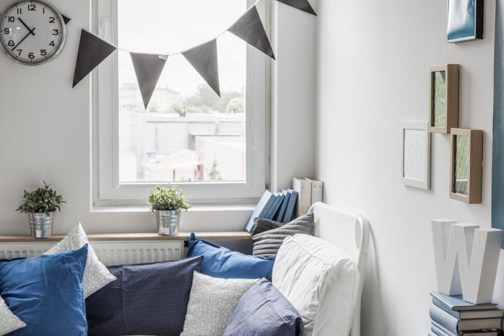 Kolor ścian do małych pomieszczeń - Malprof