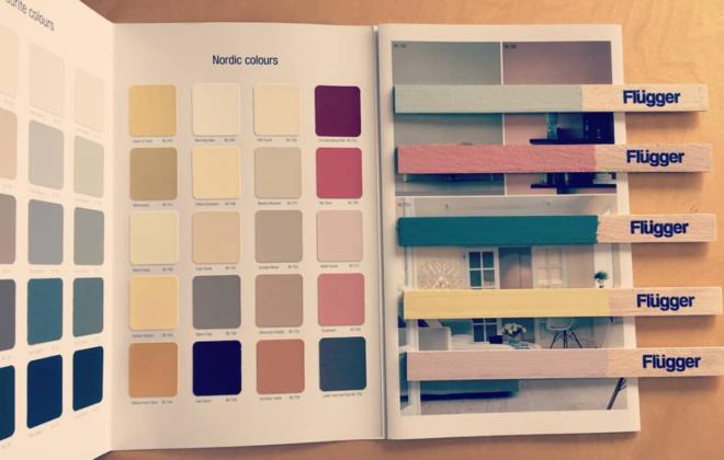 Farba satynowa, półmatowa, matowa